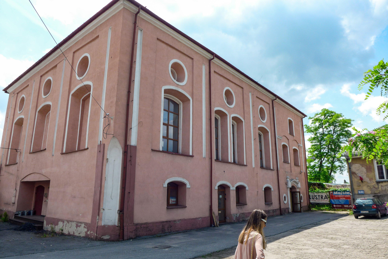 Budynek synagogi w Opocznie