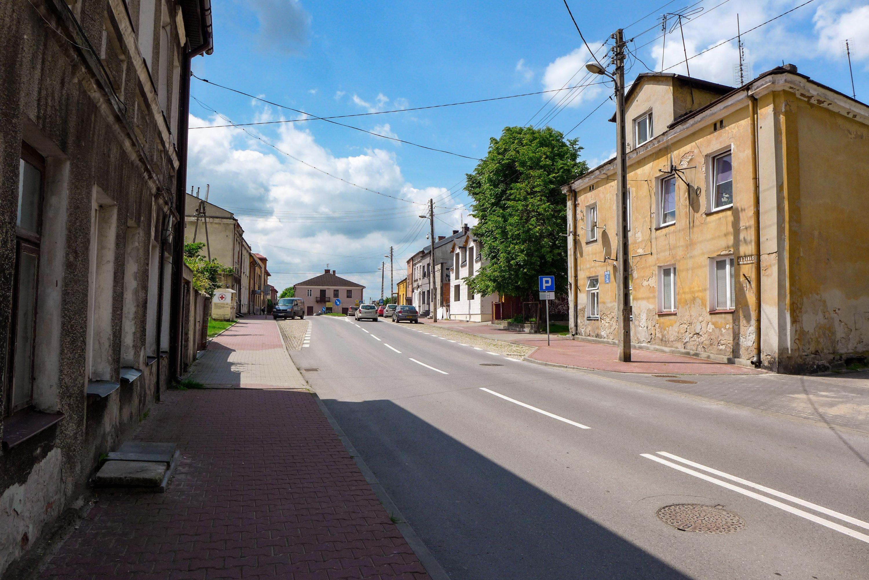 Tereny dawnego getta w Opocznie